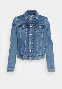Tommy Jeans - VIVIANNE SLIM DENIM TRUCKER  - Denim jacket - light blue denim - 0