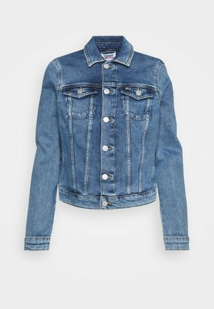 VIVIANNE SLIM DENIM TRUCKER  - Veste en jean - light blue denim