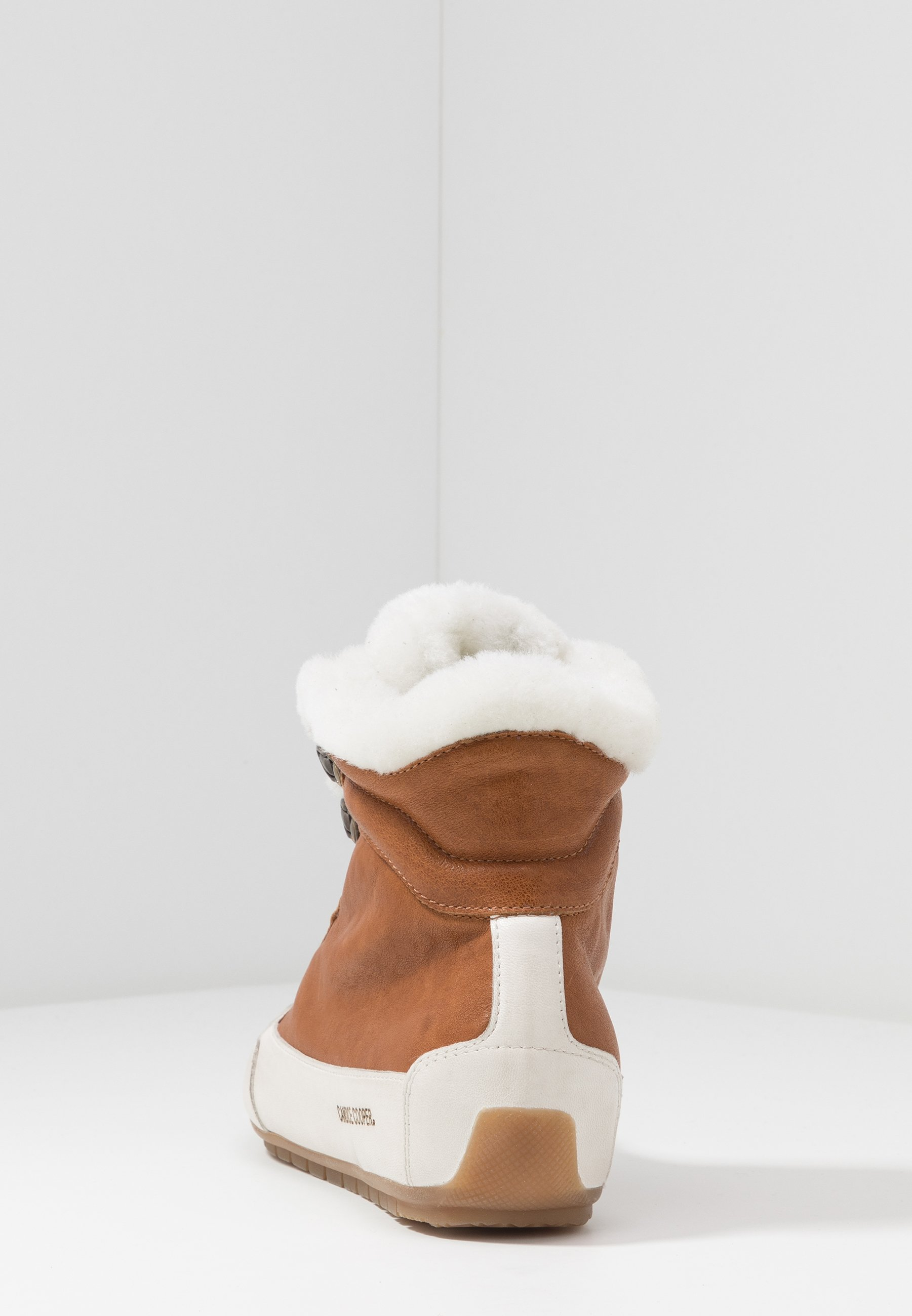 VANCOUVER Sneaker high trapper tamponato panna