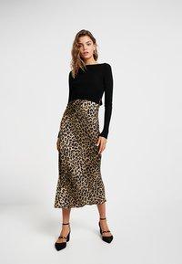 AllSaints - HERA LEPPO DRESS SET - Day dress - black - 1