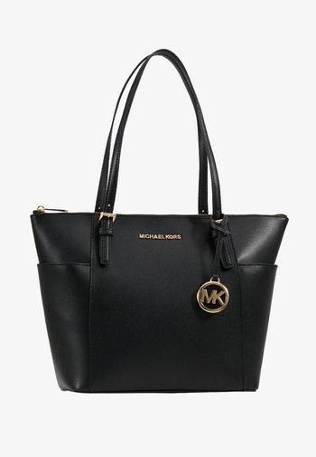 JET SET - Handtasche - black