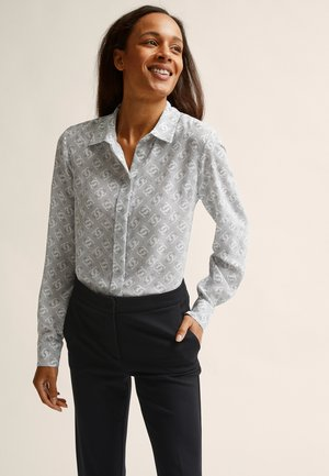 VIVIEN  - Button-down blouse - grey