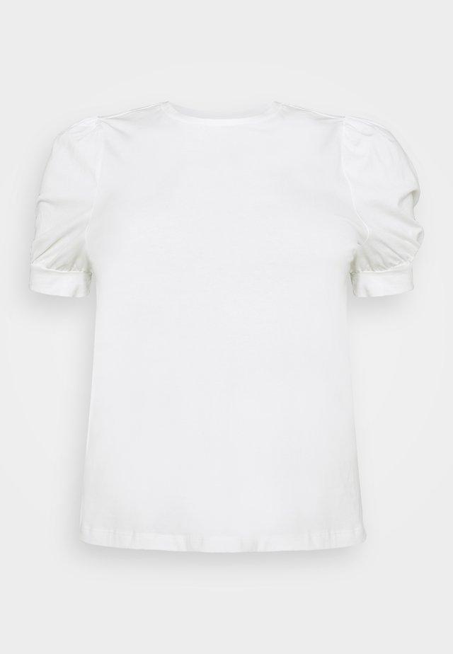 VMKERRY O NECK - T-shirt basic - snow white