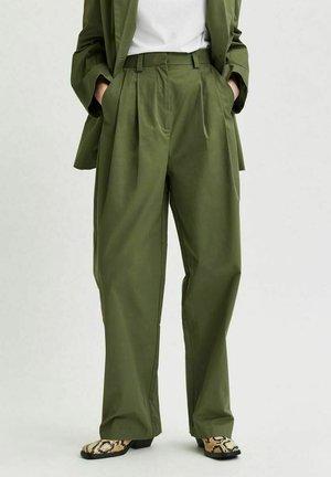 Tygbyxor - laurel green