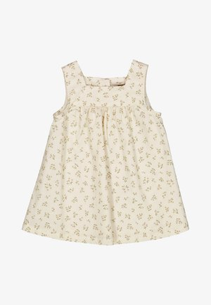 AYLA - Day dress - eggshell flowers