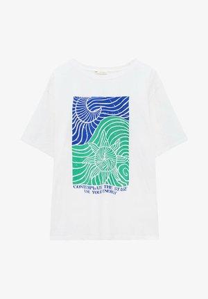 T-shirts print - off-white