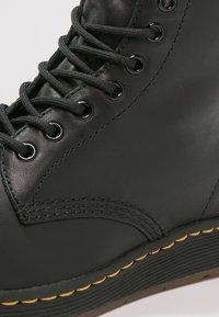 Dr. Martens - 1460 NEWTON - Lace-up ankle boots - black - 5
