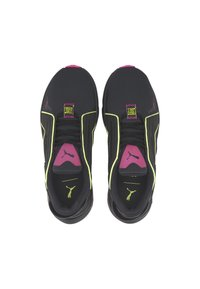 Puma - Trainers - black-yellow-luminous pink