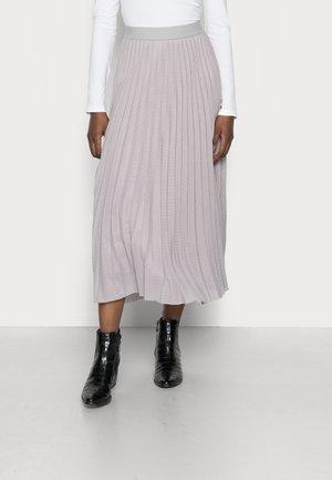 PLISSEE SKIRT - Spódnica plisowana - cloudy grey