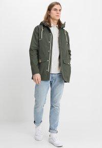 REVOLUTION - LIGHT - Summer jacket - army - 1