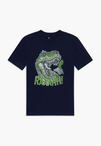 GAP - BOY  - Camiseta estampada - tapestry navy - 0