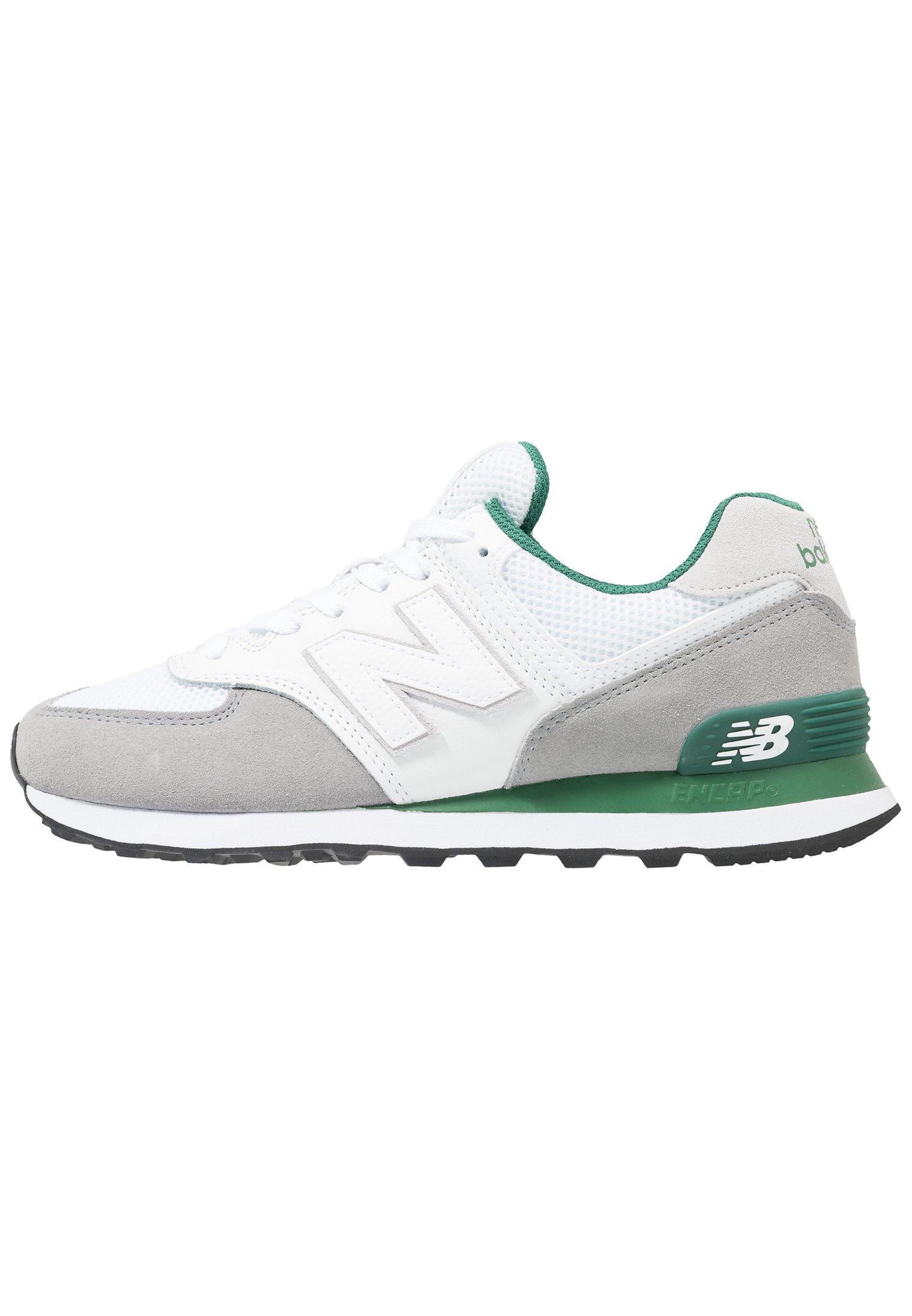 New Balance ML574 - Sneakers basse - marblehead/verde scuro ...