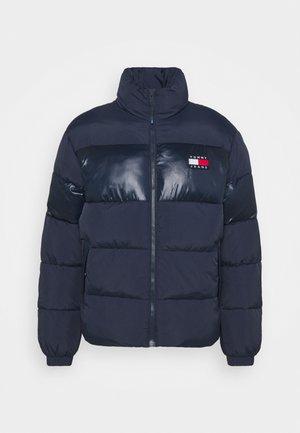 TONAL COLORBLOCK PUFFER - Winter jacket - twilight navy