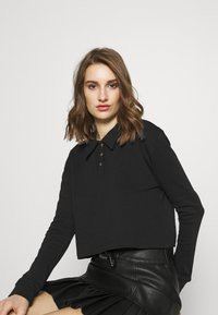 Zign - Long sleeved top - black - 3