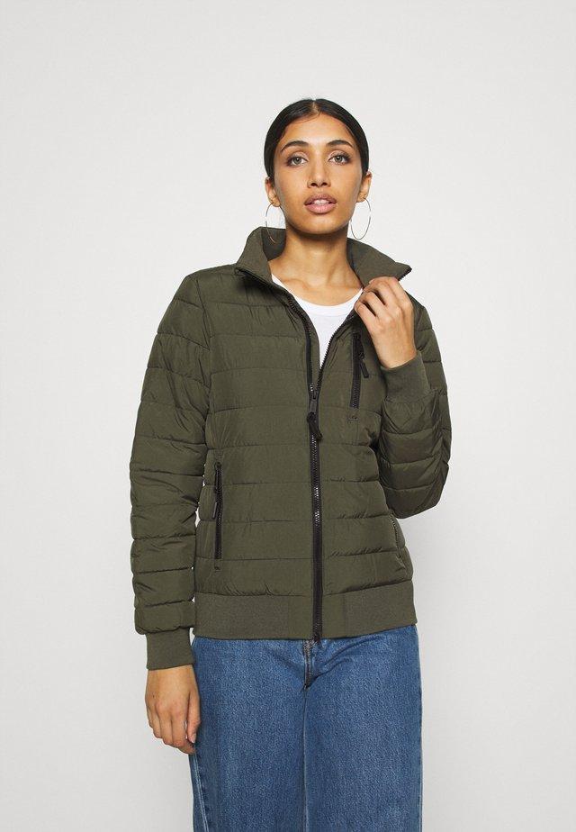 FUJI - Down jacket - khaki