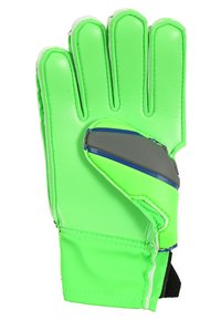 Uhlsport - TENSION SOFT JUNIOR - Goalkeeping gloves - dark grey/fluo green/navy - 2