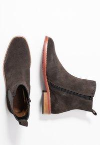 MAHONY - MILANO - Classic ankle boots - titan - 3