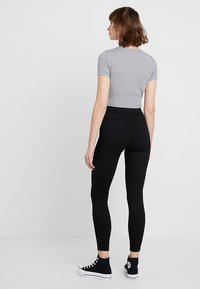 Topshop - JONI NEW - Jeans Skinny Fit - black - 2