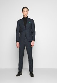 Lindbergh - CHECKED SUIT - Oblek - navy - 1