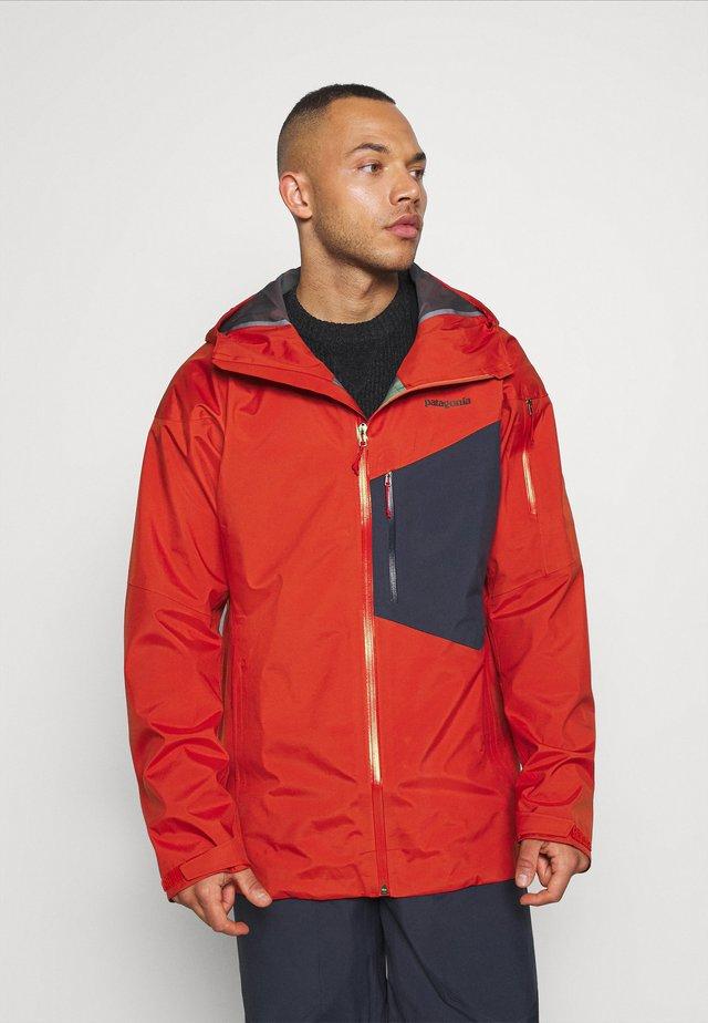 SNOWDRIFTER - Lyžařská bunda - hot ember