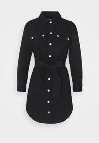 SIMONE DRESS - Sukienka jeansowa - black