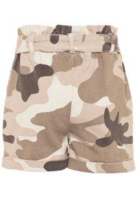 River Island - Denim shorts - khaki - 1