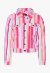 s.Oliver - LANGARM - Denim jacket - purple/pink - 0