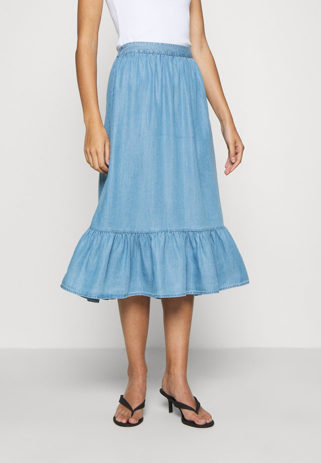 PHILIPPA SKIRT - A-line skirt - blue wash