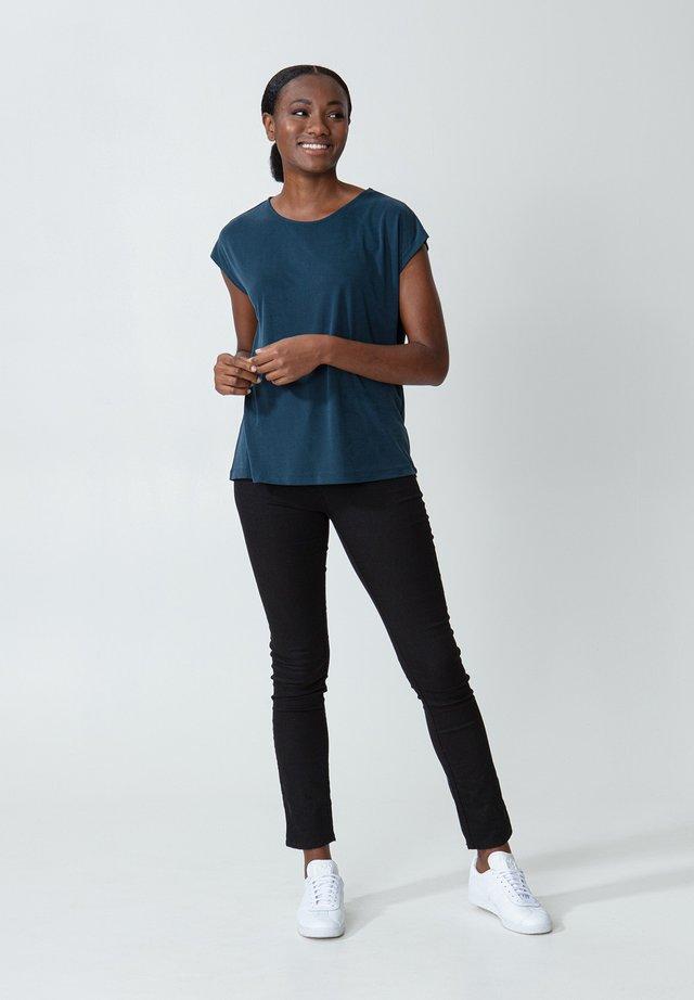 LENORA - Basic T-shirt - dkblue