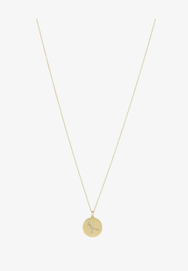 CANCER - Necklace - gold-coloured/crystal