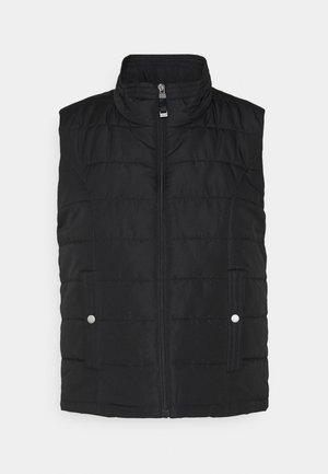 VMSIMONE SHORT WAISTCOAT - Waistcoat - black
