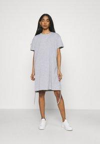 Trendyol - Jersey dress - grey - 0