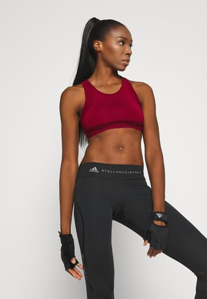Sports bra - bordeaux