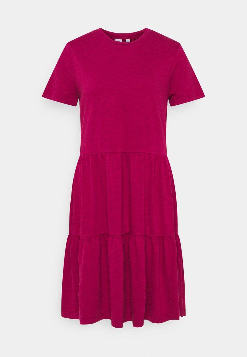 GAP - TIERD - Jersey dress - ruby pink