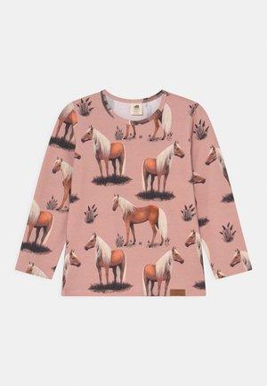 BEAUTY HORSES UNISEX - Long sleeved top - pink