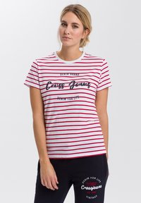 Cross Jeans - Print T-shirt - white - 0