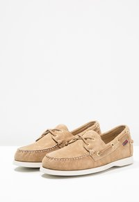 Sebago - DOCKSIDES - Boat shoes - sand - 2