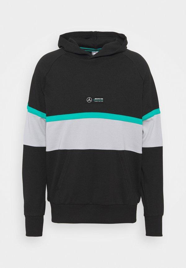 Puma HOODIE - Bluza - black/czarny Odzież Męska FLHH