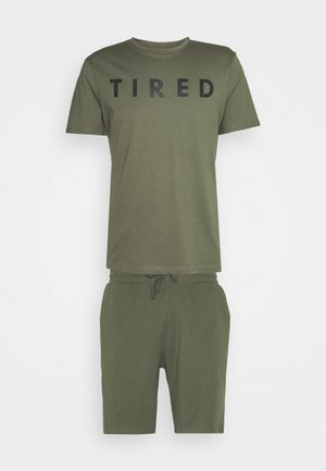 Pyžamová sada - khaki