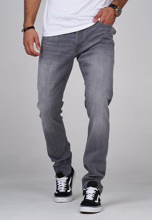JJGLENN JJARIS - Slim fit jeans - grey denim