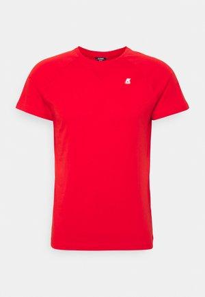 EDWING UNISEX - Jednoduché triko - red
