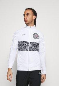 Nike Performance - CLUB AMERICA ANTHEM - Träningsjacka - white/black - 0