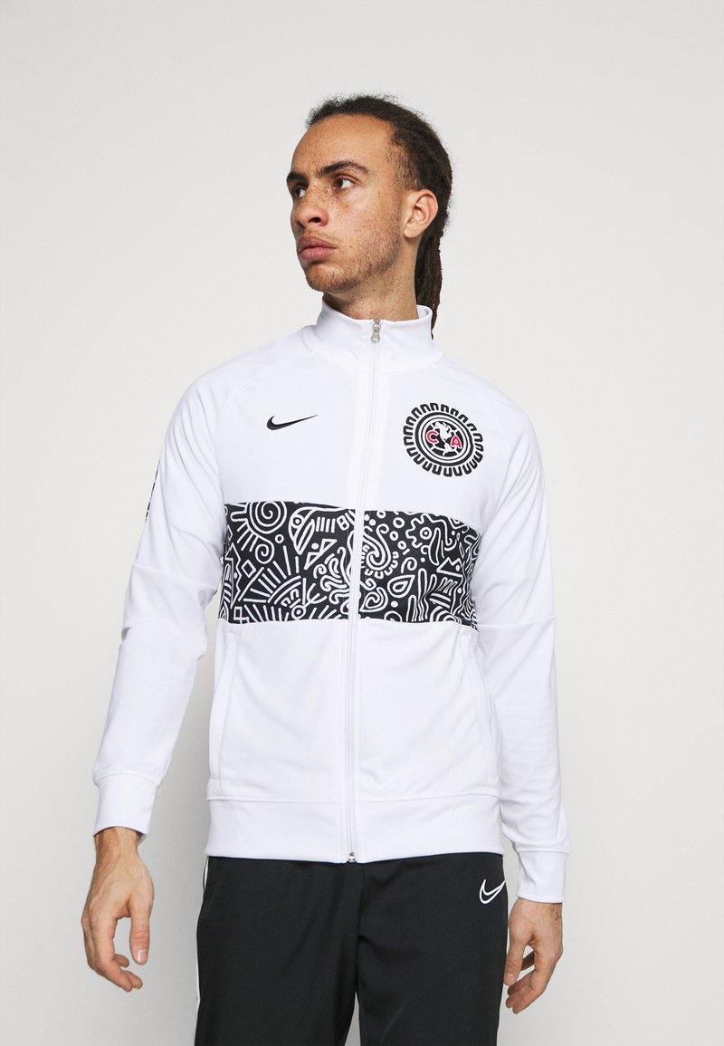 Nike Performance - CLUB AMERICA ANTHEM - Träningsjacka - white/black