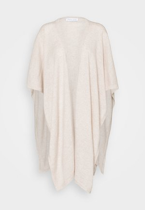 OPEN PONCHO - Viitta - light beige