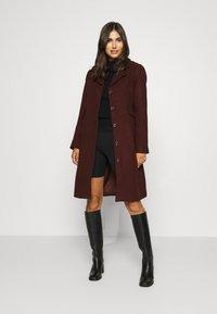 Karen by Simonsen - Classic coat - winetasting - 0