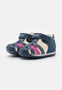 Geox - EACH GIRL - Sandals - avio/fuchsia - 1