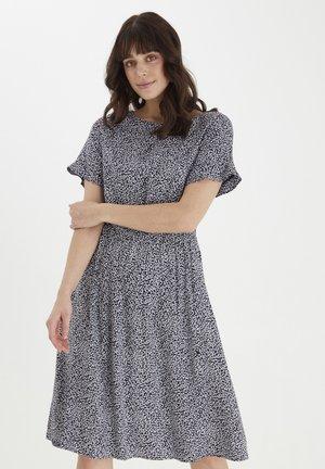 Day dress - navy blazer mix