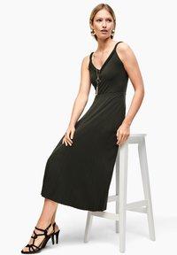 s.Oliver BLACK LABEL - Maxi dress - dark khaki green - 2