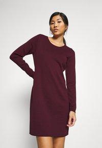 edc by Esprit - DRESS - Jumper dress - bordeaux red - 3