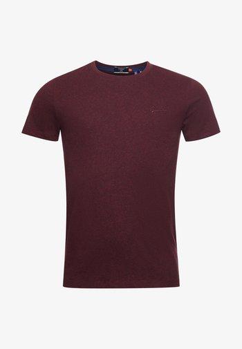 VINTAGE  - T-shirt - bas - bordeaux